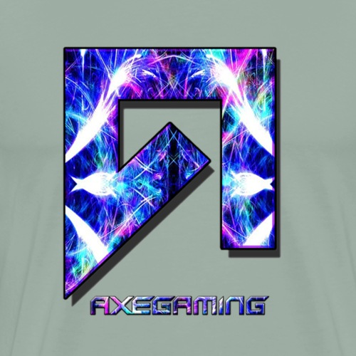 AxeGaming Main Logo - Men's Premium T-Shirt