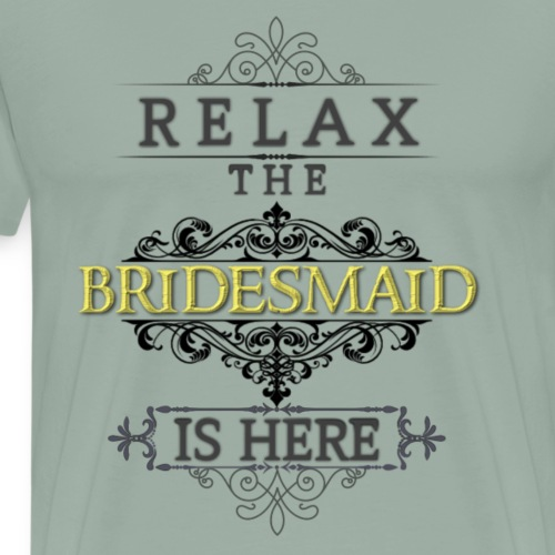 Bridesmaid - Men's Premium T-Shirt