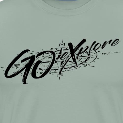Go eXplore - blk - Men's Premium T-Shirt
