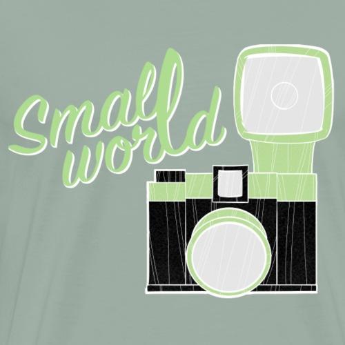 small world camera - Men's Premium T-Shirt