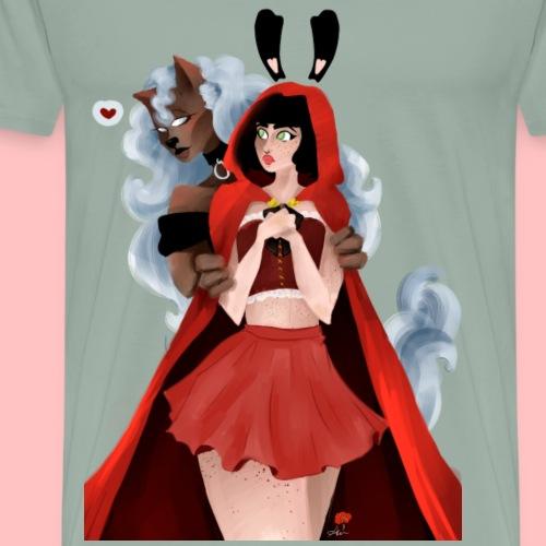 Red riding hood - Men's Premium T-Shirt