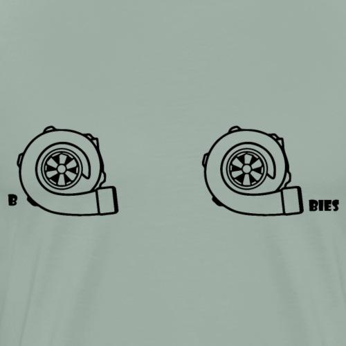 boobies - Men's Premium T-Shirt