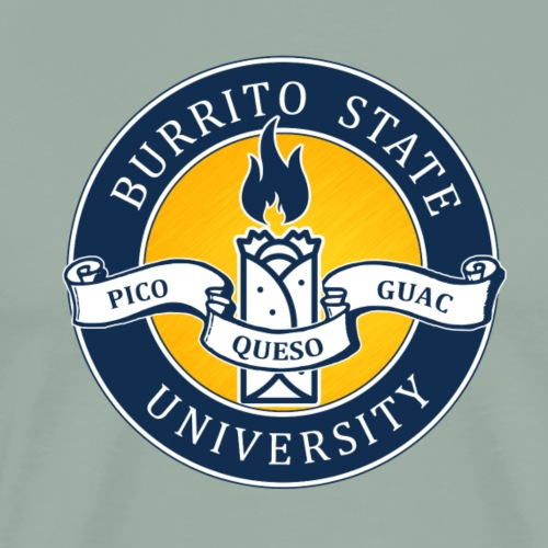 Burrito State University - Men's Premium T-Shirt