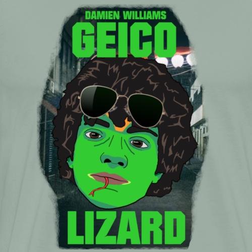 Damien Williams - Geico Lizard - Men's Premium T-Shirt