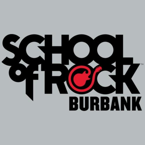 School of Rock Burbank Black Logo - Men's Premium T-Shirt
