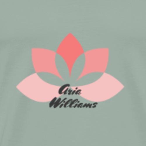 Aria Williams Logo - Men's Premium T-Shirt