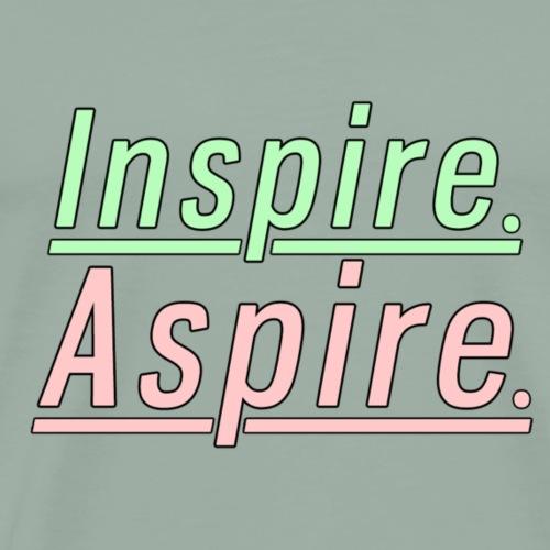 Inspire. Aspire. - Men's Premium T-Shirt