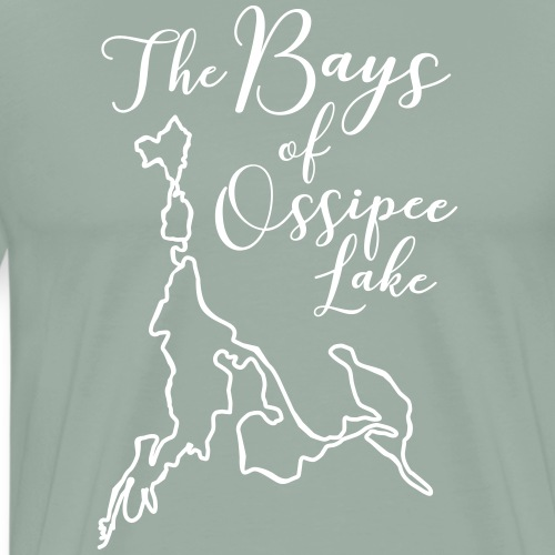 The Bays of Ossipee Lake, New Hampshire - Men's Premium T-Shirt