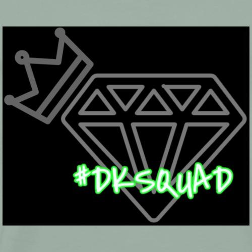 #DKSQUAD Diamond Logo   Tiggah The Rapper - Men's Premium T-Shirt