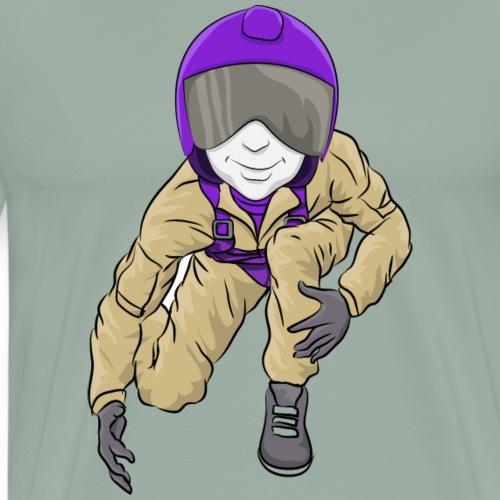 Aviators Mascot Wrestling - Men's Premium T-Shirt