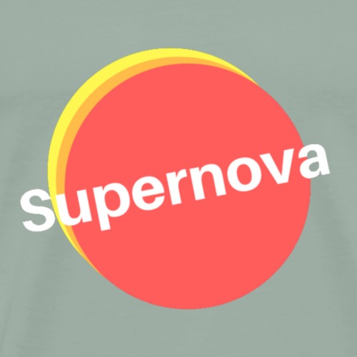 Supernova Transparent - Men's Premium T-Shirt