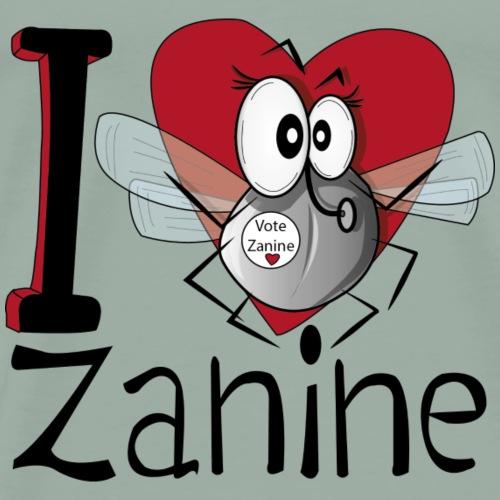 I love Zanine - Men's Premium T-Shirt