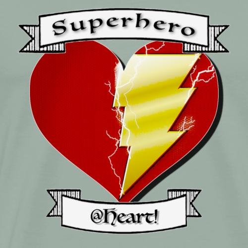 superhero at heart - Men's Premium T-Shirt