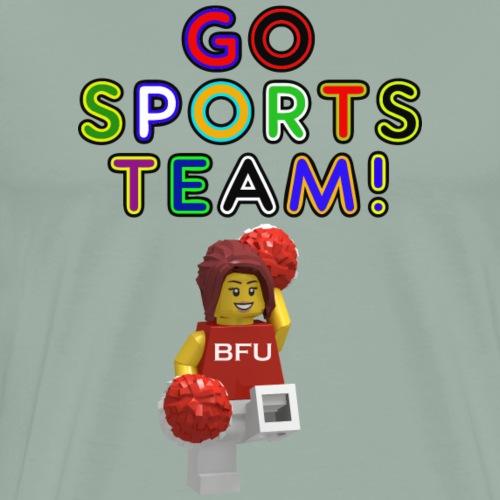 Go Sports Team! - Men's Premium T-Shirt
