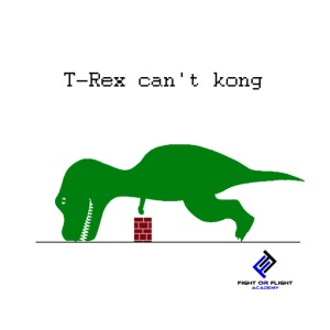 T-Rex Can't Kong - Men's Premium T-Shirt
