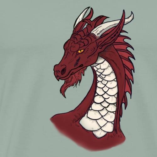 Zauf - Dragon - Men's Premium T-Shirt