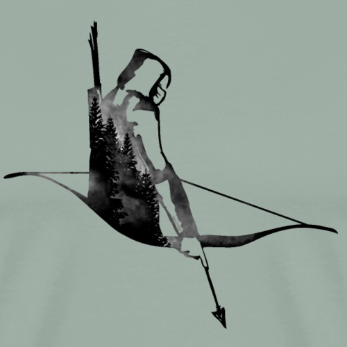 Strider (Archery by BOWTIQUE) - Men's Premium T-Shirt