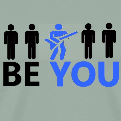 Be You Guitarist t-shirts and gifts - Men's Premium T-Shirt