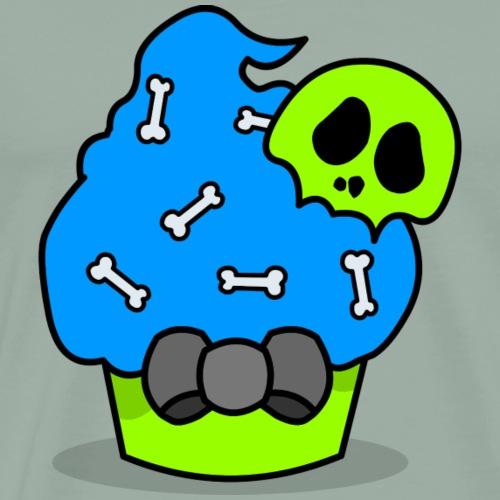 Halloween Muffin Zombie - Men's Premium T-Shirt
