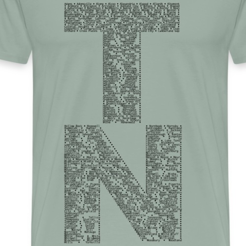 TN Cities - Men's Premium T-Shirt