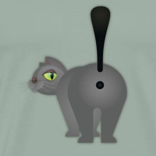 Cat Butt - Men's Premium T-Shirt