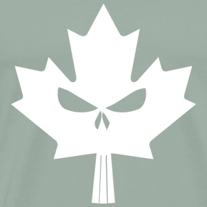 Maple Skull White - Men's Premium T-Shirt