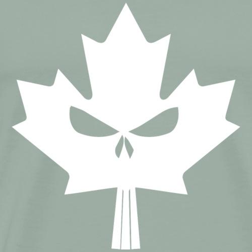 Maple Skull White - Men's Premium T-Shirt