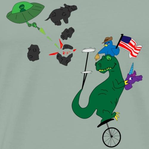 Ad-Lib Fourth of July - Men's Premium T-Shirt