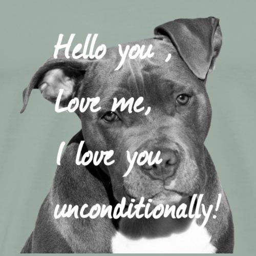 Stafford,Terrier,Dog,Dog Lovers,Dogs,Dog head, - Men's Premium T-Shirt