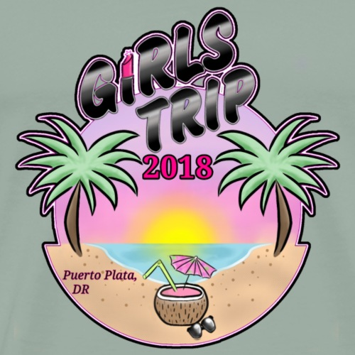 Girls Trip '18 - Men's Premium T-Shirt