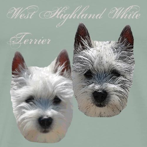 West Highland White Terrier,dog lover,animal lover - Men's Premium T-Shirt