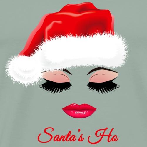 Santa's Ho. Christmas Gifts for Girls. Bestseller. - Men's Premium T-Shirt