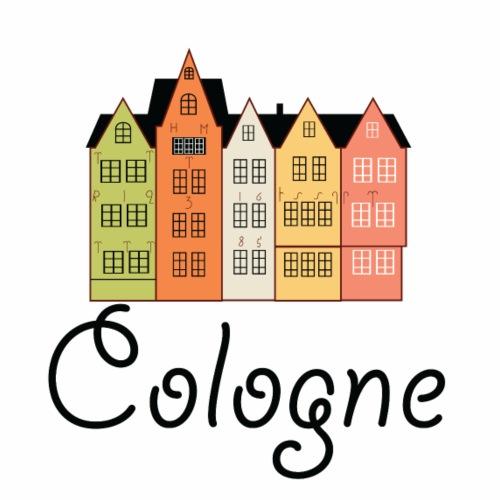 Cute Cologne Logo gift present idea - Men's Premium T-Shirt