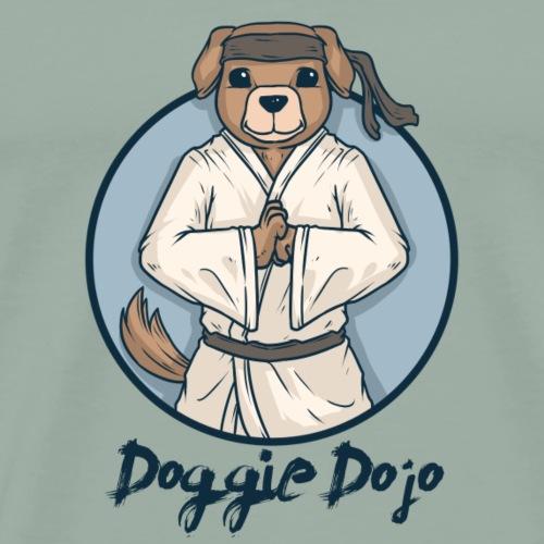 Doggie Dojo Dog Ninja - Men's Premium T-Shirt