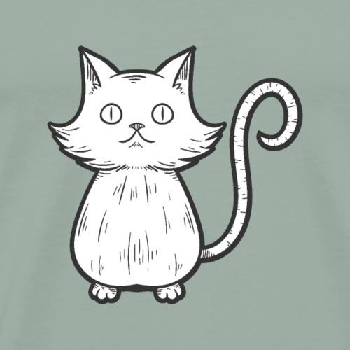 Cute Cat - Men's Premium T-Shirt