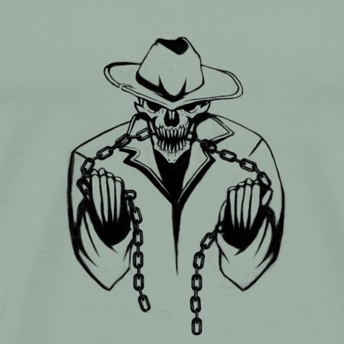 Neat skull design - Men's Premium T-Shirt