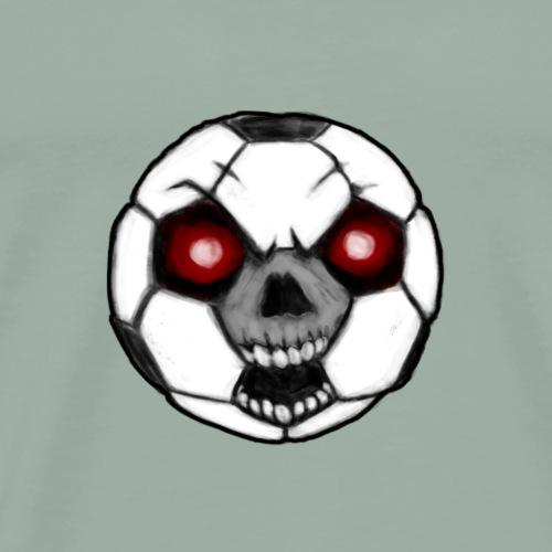 Zombie soccer ball - Men's Premium T-Shirt