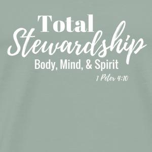 Total Stewardship (white) - Men's Premium T-Shirt