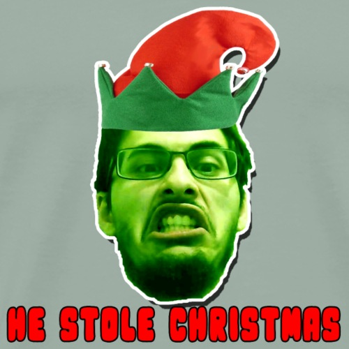 stolen christmas - Men's Premium T-Shirt