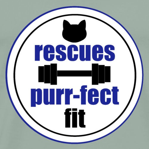 Rescues are the perfect fit in blue - Men's Premium T-Shirt