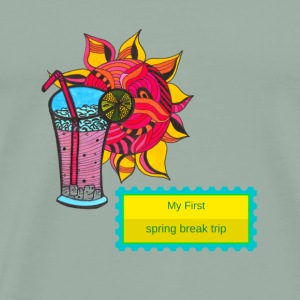 First Spring Break Trip - Men's Premium T-Shirt