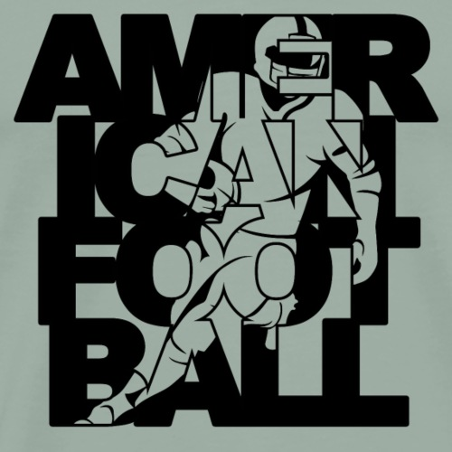 american football player - Men's Premium T-Shirt