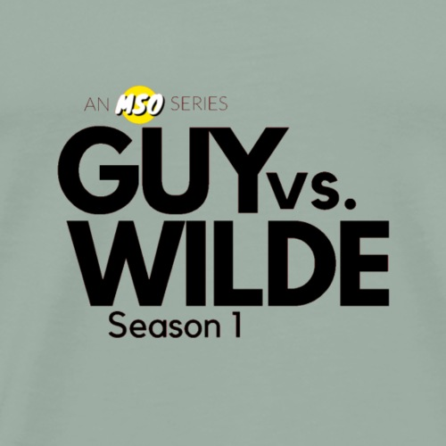 Guy vs Wilde Season 1 Logo - Men's Premium T-Shirt
