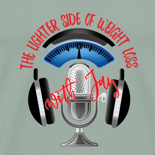 The Lighter Side Podcast Logo - Men's Premium T-Shirt