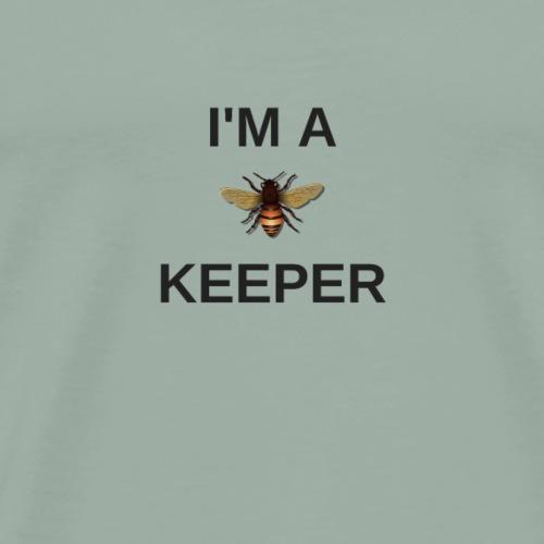 I'm a keeper! Beekeeper pride! - Men's Premium T-Shirt