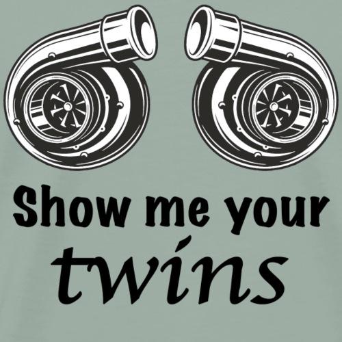 Show me your twins - Men's Premium T-Shirt