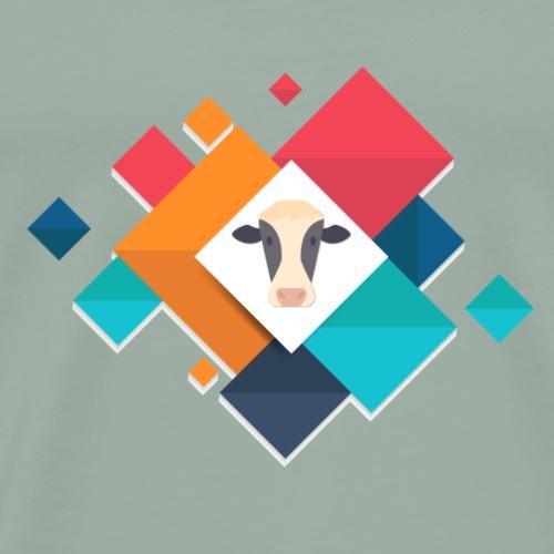 cow - Men's Premium T-Shirt