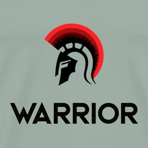 Warrior gladiator helmet - Men's Premium T-Shirt