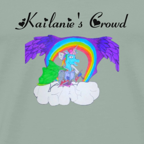 Kailanie's Crowd unicorn 5 - Men's Premium T-Shirt