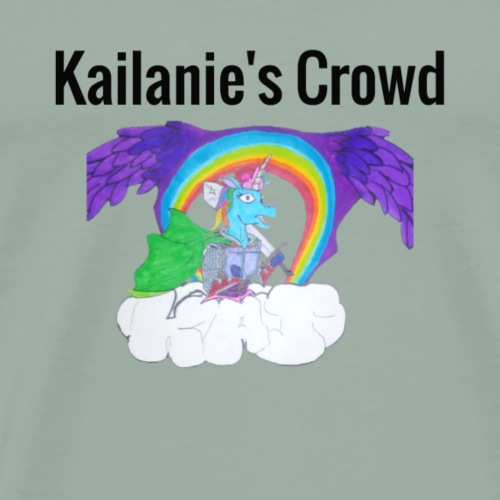 Kailanie's Crowd unicorn 6 - Men's Premium T-Shirt